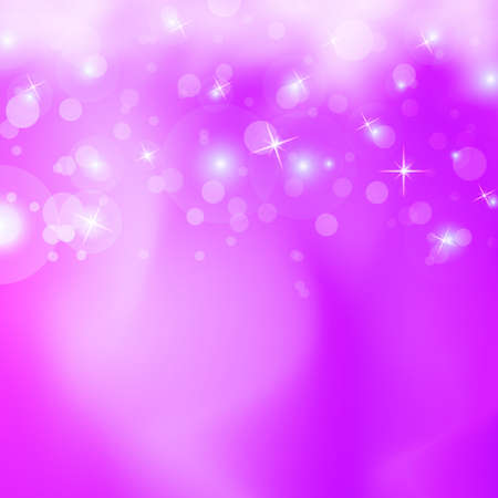 pink bubbles: nice background with cute effect Illustration
