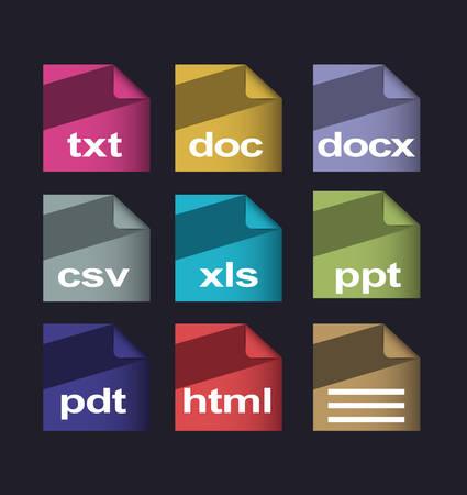 formats: Vector documents formats
