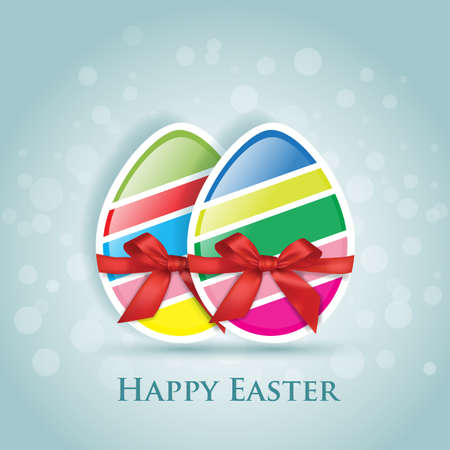 Happy Easter  greeting card Stock Vector - 23649624