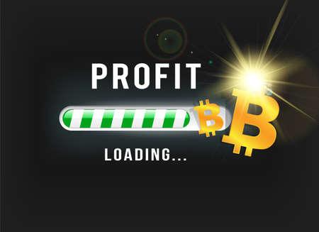 Loading Bitcoin profit