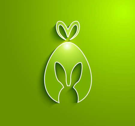 coniglio di pasqua: Coniglio di Pasqua dono uovo