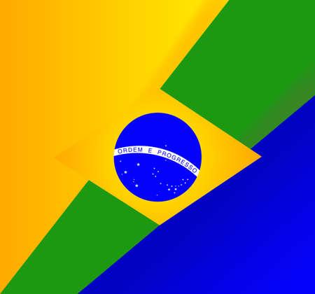 brasil: abstract brazilian flag background