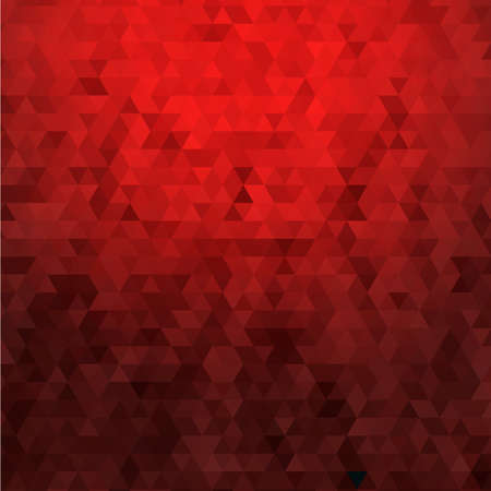 poster red: Abstract red geometric background Illustration