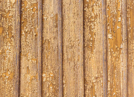 peeling paint: Peeling vernice su uno sfondo parete in legno Archivio Fotografico
