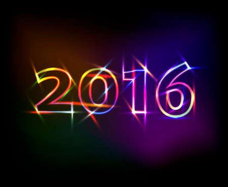 2016 neonlichten effect