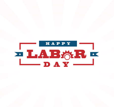 gewerkschaft: Labor day vector design elements icon Etikett Abzeichen