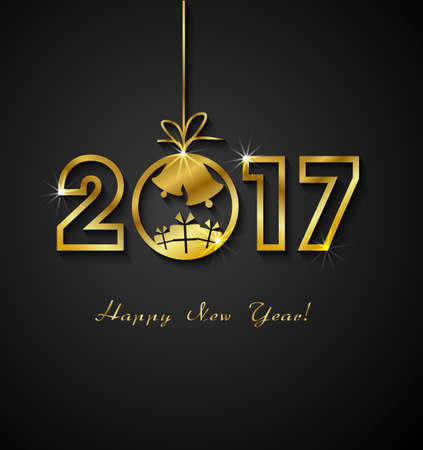 bonne ann�e: 2017 Happy New Year
