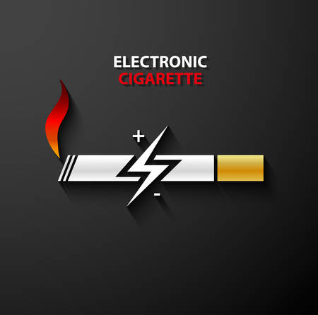 electronic cigarette: Electronic cigarette icon