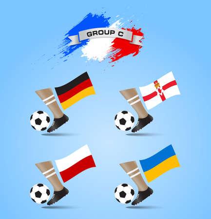 France Soccer Championship Final Tournament Group C