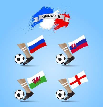 eliminating: France Soccer Championship Final Tournament Group B
