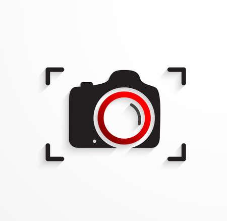 focus on shadow: Camera icon