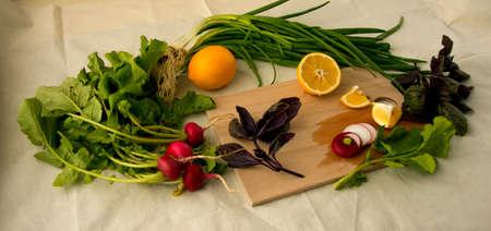 bah: Limon soğan A.Ş. Stock Photo