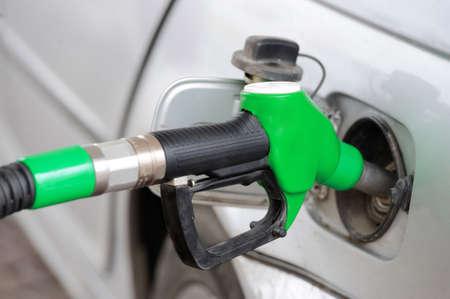 fill up: Fill up fuel at gas station