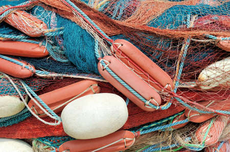 fishingnet: Abstract background with a fishing nets Stock Photo