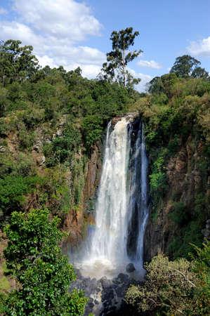 Big Thomsons Falls. Africa, Kenya