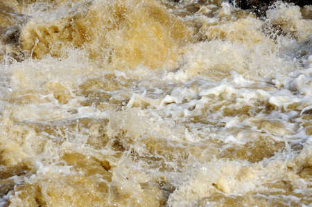 raging: Raging River Flood Water with white foam