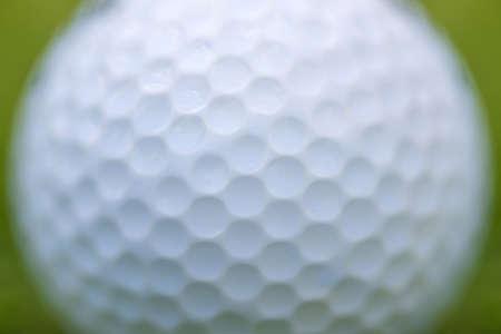 Close up golf ball texture background