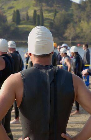 triathlon Banco de Imagens - 378659