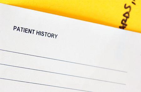 historia clinica: gr�fico