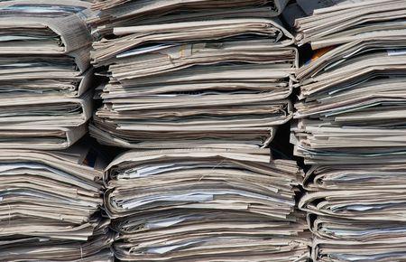 newspapers Banco de Imagens