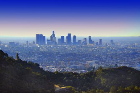 central california: los angeles Stock Photo