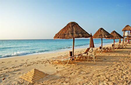 the beach in the caribbean Banco de Imagens - 1575147