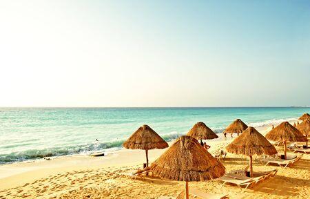 the beach in the caribbean Banco de Imagens - 1575093