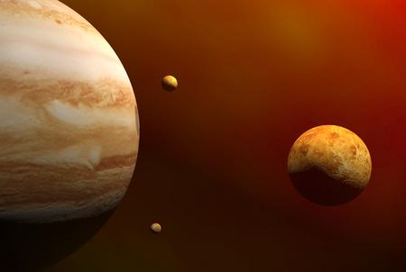 3D render of space Banco de Imagens - 1591975