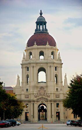pasadena city hall Banco de Imagens - 1584104