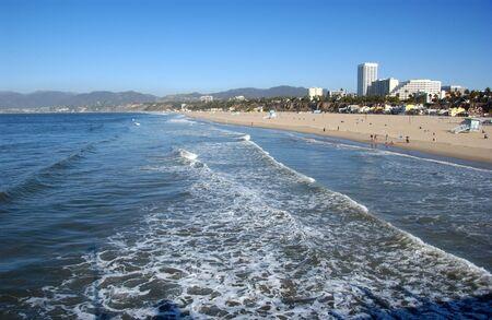 Santa Monica - beach Banco de Imagens