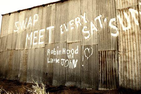 Swap Meet door johannesburg california.usa Stockfoto