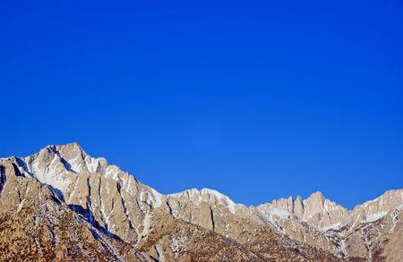 lone pine: Mount Whitney y el pino solitario pico California Estados Unidos