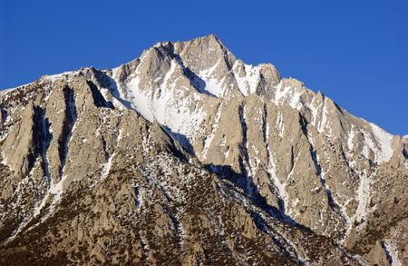 lone pine peak california usa