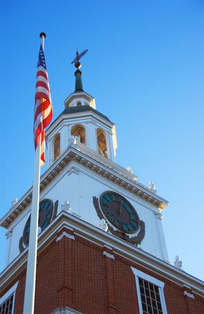 Independence Hall at Knotts Berry Farm