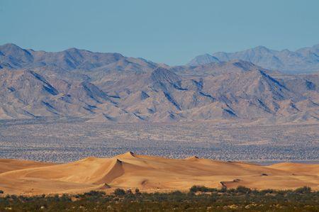 cadiz dunes mojave desert california Banco de Imagens