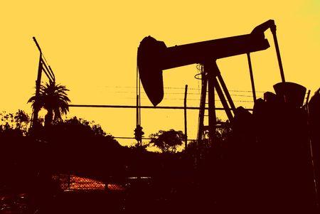 oil pump Banco de Imagens