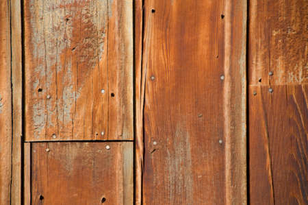 Close up of old wood wall