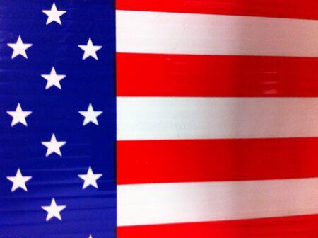 The American flag Banco de Imagens