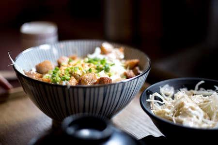 Bulgogi rice balls Reklamní fotografie