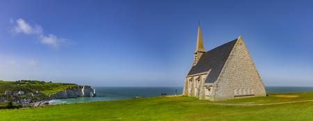 Chapel of Etretat Reklamní fotografie