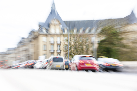 Traffic in Luxembourg City