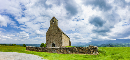 Chapel Notre-Dame-de-Roum? in the French Pyrenees