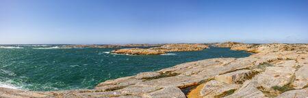 Skerry coast in Val?n in Bohusl?n Sweden