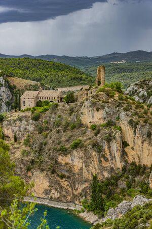 Torreciudad Sanctuary in Huesca Aragon Spain