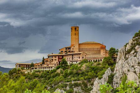 Torreciudad Wallfahrtsstätte in Aragonien Spanien Stock Photo