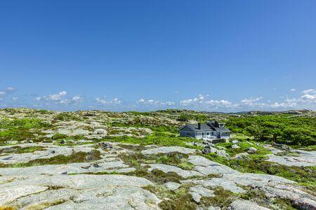 Landscape on Ramsviklandet, nature reserve in Bohuslän; Sweden