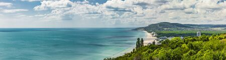 Bulgarian Black Sea coast at Albena Beach