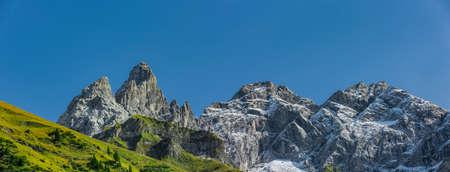 Allgäu high alps near Oberstdorf im Allgäu Zdjęcie Seryjne
