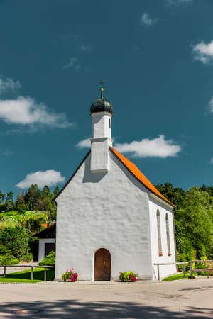 St.Rochus chapel in Bertoldshofen in the allgäu region