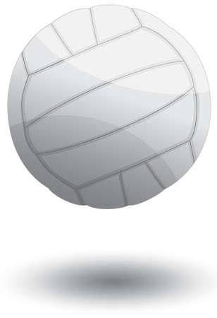 pelota de voley: Voleibol ilustraci�n.